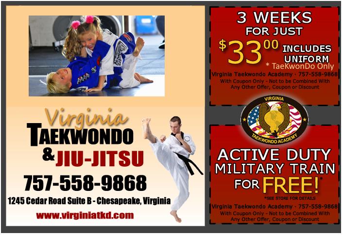 Virginia TaeKwonDo Academy Specials